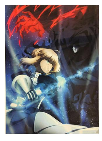 UFOTable Cafe Fate/stay night: Heaven's Feel Battle Saber vs Assassin Wall Scroll Tapestry A3