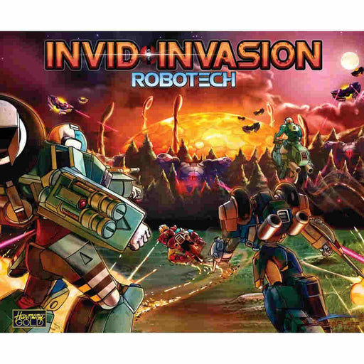 Robotech: Invid Invasion Board Game (Pre-Order)