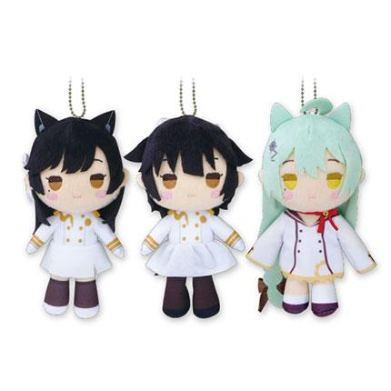 Azur Lane Prize Plush Doll Ball Chain Part.1 (Akashi, Takao, Atago)