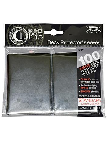 Ultra Pro: Eclipse Deck Protector Sleeves Pro-Matte Jet Black Standard 100CT