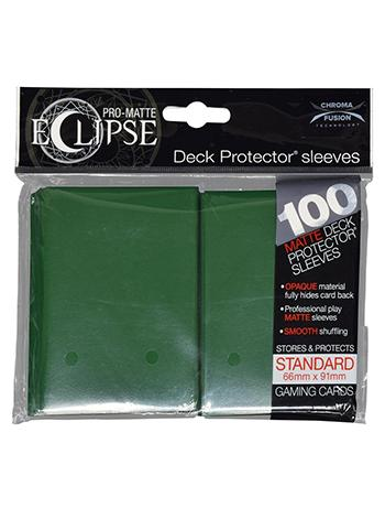 Ultra Pro: Eclipse Deck Protector Sleeves Pro-Matte Forest Green Standard 100CT