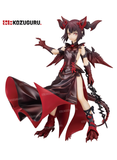 Puzzle & Dragons - Fire Red Myr Burning Time Dragonbound Prize Figure Special Statue