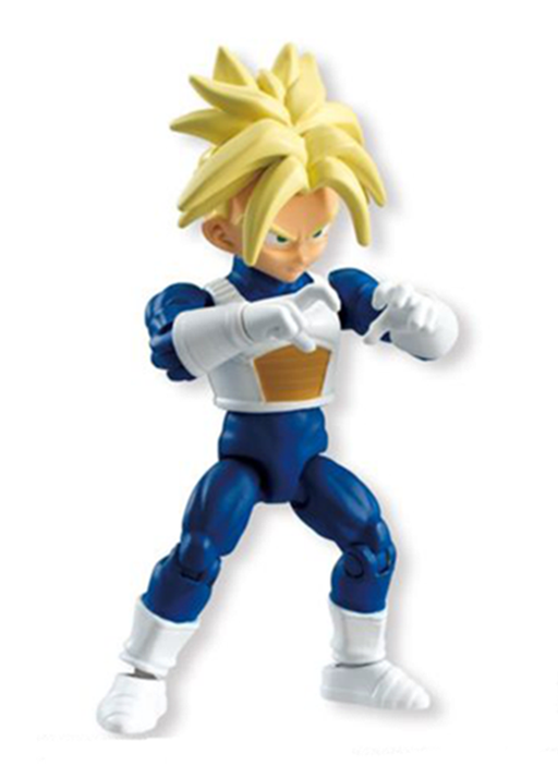 Dragon Ball Kai - 66 Action Dash Shokugan Trunks (04) - Mini Action Toy Figure DBZ