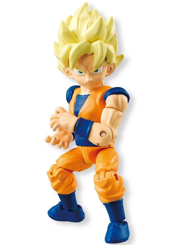 Dragon Ball Kai - 66 Action Dash Super Saiyan Goku (01) - Mini Action Toy Figure