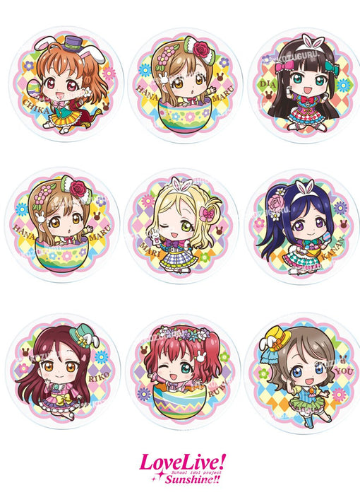 Love Live! Sunshine!! - Easter Themed - Capsule Badge Pin Vol.3