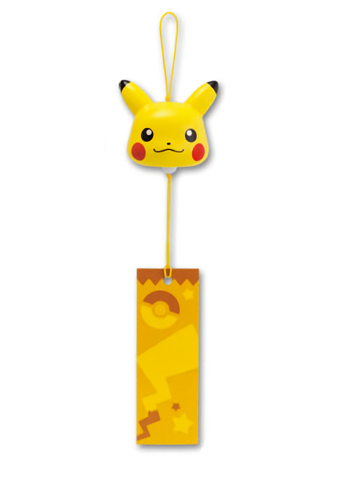 Pokemon XY Pikachu Ceramic Wind Chime Bell Furin Open Eyes Ver.