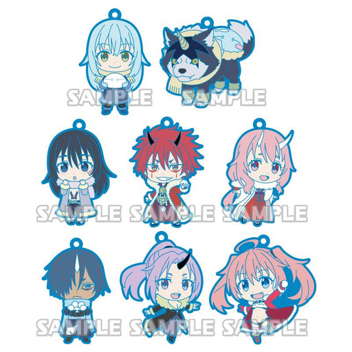 All TenSura mascot straps including Rimuru, Ranga, Shizu, Benimaru, Shuna, Soei, Shion and Milim Nava