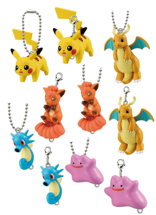 Pokemon Connect-Together Capsule Mascot Swing Key Chain **Set of 10**