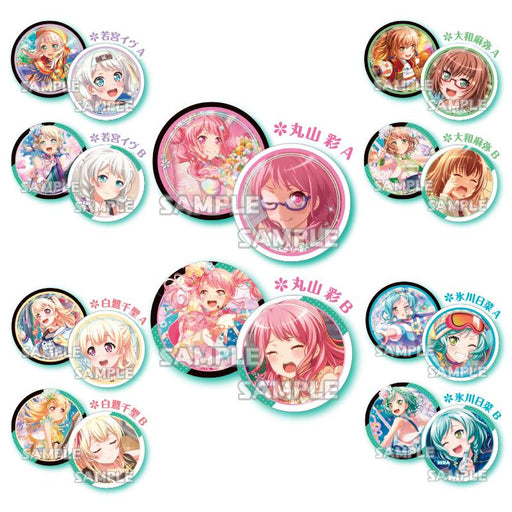 10 magnets of characters from Pastel * Palettes band from Bang Dream.