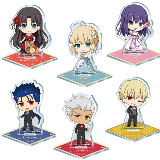 Fate Stay Night × Nakau 15th Anniversary Event Exclusive Mini Acrylic Stand Mascot