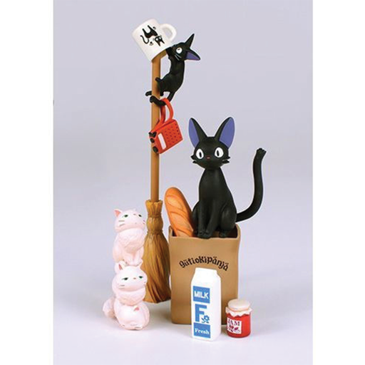 Kiki's Delivery Service - Jiji Assortment - Ensky Stacking Figure (NOS-28)