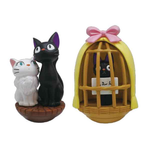 Kiki's Delivery Service - Jiji & Lily (Set of 2) - Ensky Tilting Figure (YR-03)