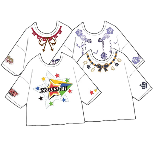 Ensemble Stars - Taiwan Limited Character Free-Size T-shirt White