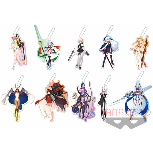 Fate Grand Order - Limited Big Plate Acrylic Character Mascot Key Chain Vol. 4 FGO
