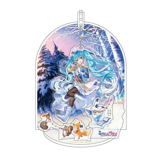 Vocaloid - Snow Miku 2020 3D Acrylic Stand with Removable Charm