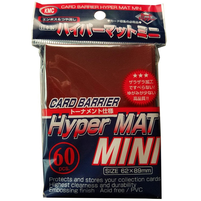 KMC Mini Hyper Mat Red (60 count)