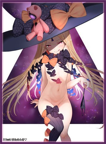 C96 Fate Grand Order - Abigail Williams Foreigner Ver. Circle Frontier Game - Doujin Character Sleeves