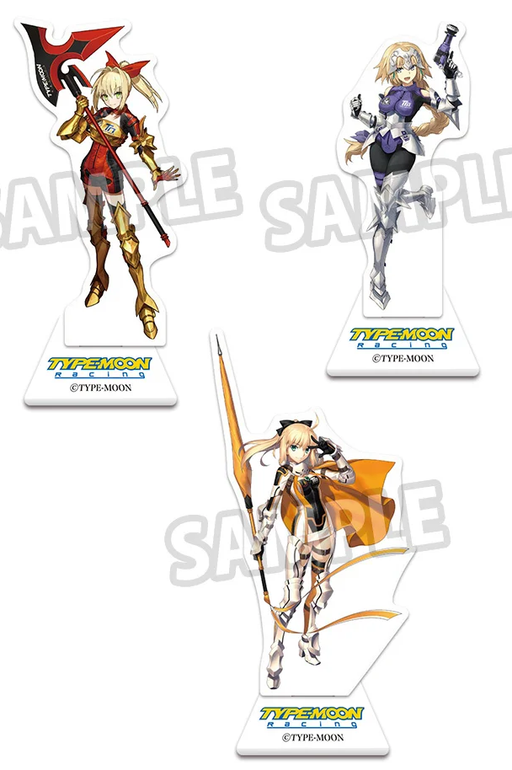 Fate Grand Order Fes 2019 FGO Plusone Type Moon Racing Character Acrylic Stand Mascot