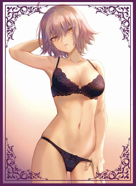 C96 Fate Grand Order - Jeanne d'Arc Alter Lingerie Ver. by Mashu Circle Sunpan - Doujin Character Sleeves