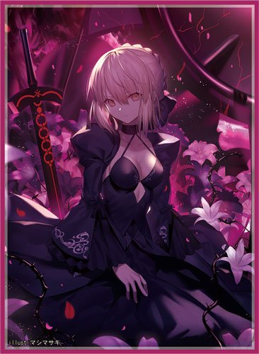 C96 Fate Grand Order - Altria Pendragon Saber Alter Circle Frontier Game - Doujin Character Sleeves
