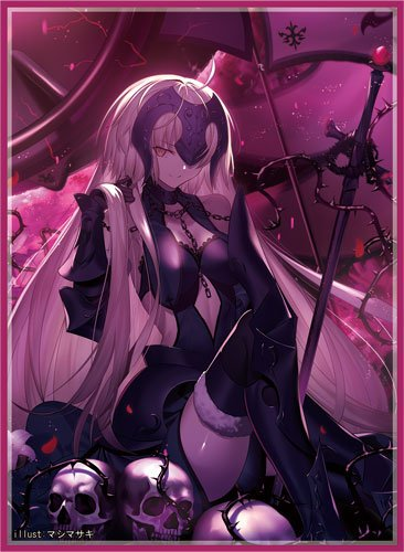 C96 Fate Grand Order - Jeanne d'Arc Alter Avenger Circle Frontier Game - Doujin Character Sleeves