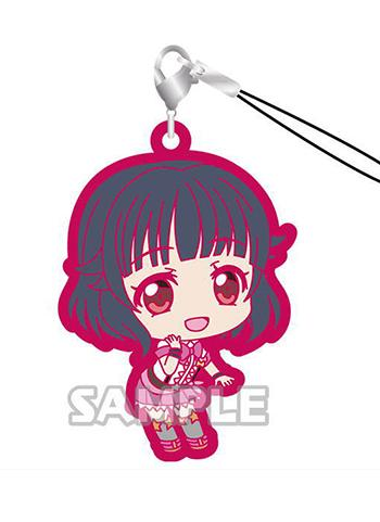 BanG Dream! Poppin'Party Rimi Ushigome Capsule Rubber Mascot Strap