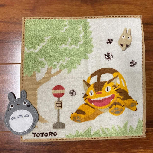 My Neighbor Totoro - Totoro at Catbus Station - Marushin Mini Towel