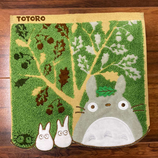 My Neighbor Totoro - Totoro and Acorn Tree - Marushin Mini Towel