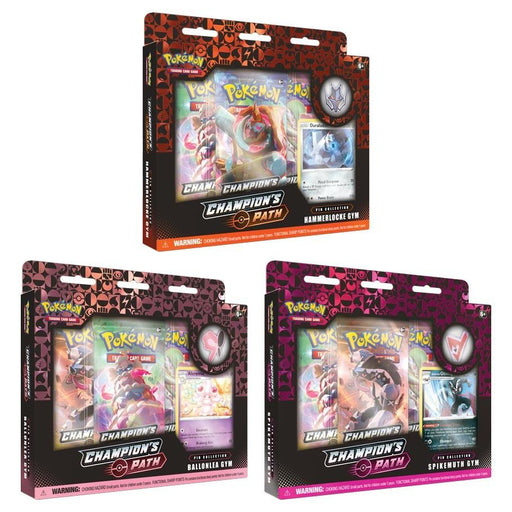 Pokemon TCG: Champion's Path Pin Collection 2 Gym Box
