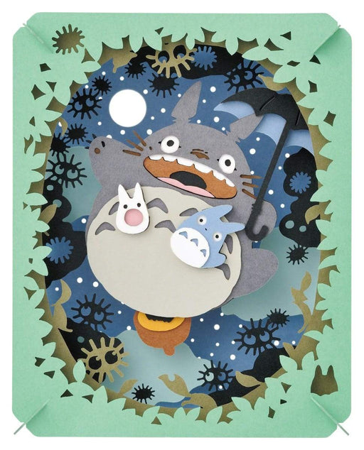My Neighbor Totoro - Totoro Illuminated by the Moon - Ensky Paper Theater PT-048