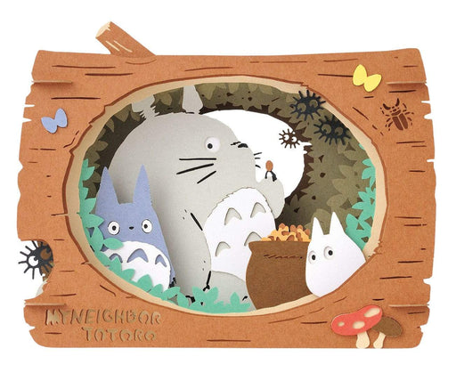 My Neighbor Totoro - Totoro in Log - Ensky Paper Theater PTB-084