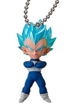 Dragon Ball Super Saiyan - Vegeta - UDM Burst 24 Capsule Mascot Swing Key Chain