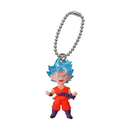 Dragon Ball Super Son Goku Super Saiyan Best 16 Capsule Mascot Swing Key Chain
