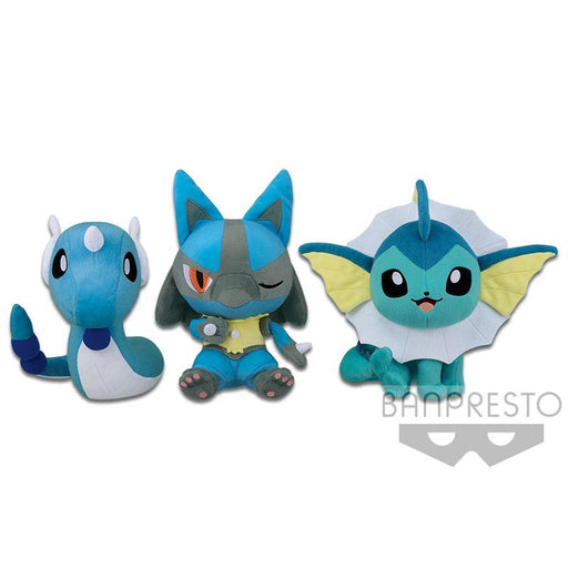 "Pokemon Sun & Moon Color Series (Blue) 12"" Character Super DX Plush"