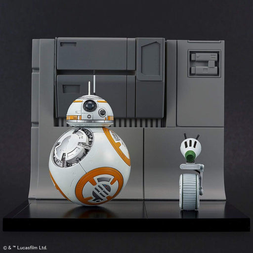 Star Wars - BB-8 & D-0 Diorama Set (Rise of Skywalker Ver.) - Bandai Spirits Star Wars 1/72 Plastic Model Kit