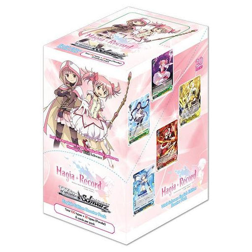 Weiss Schwarz: Magia Record: Puella Magi Madoka Magica (Side Story) - EN Booster Box & Case Pack