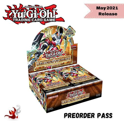 Yu-Gi-Oh! Lightning Overdrive Booster Box - Preorder Pass