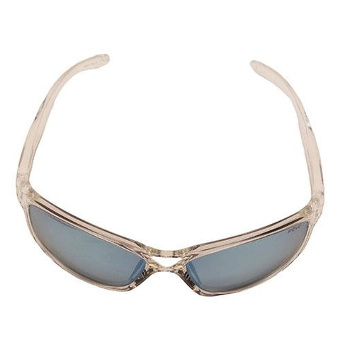 Harness Sunglasses - Crystal Frames, Blue Water Serilium Lens