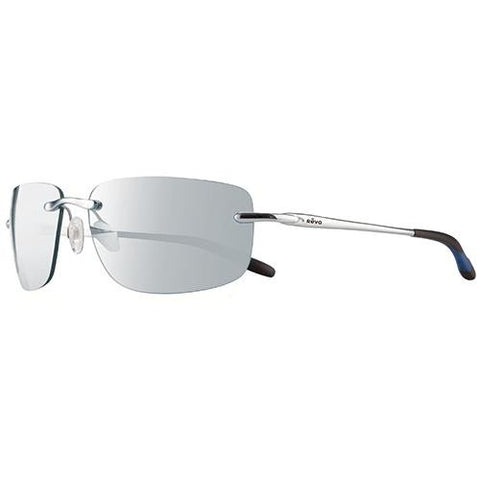 Outlander Sunglasses - Chrome Frames, Stealth Gray Serilium Lens