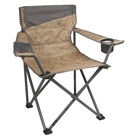 Chair - Quad, Oversized, Topo Print