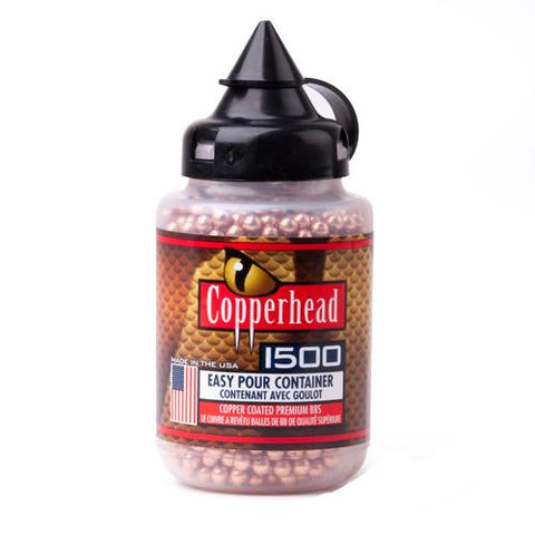 Copperhead BBs - 4.5mm, Per 1500