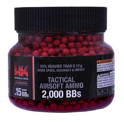 HK Red - 6mm, .15 Grain, Per 2000