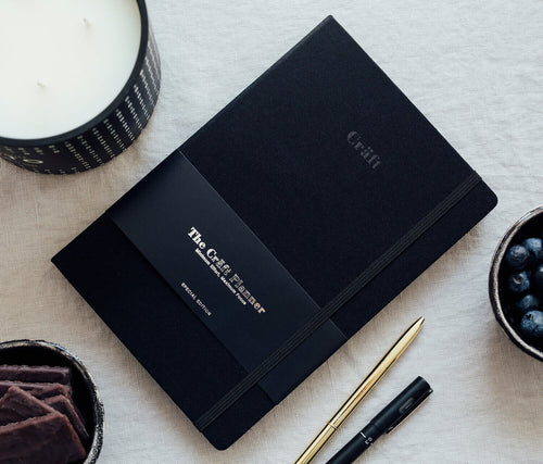 The Craft Planner A5 Limited Edition: Obsidian Black