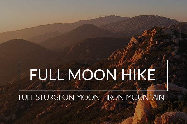 Full Moon Hike - Full Sturgeon Moon