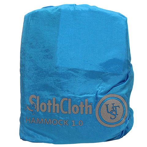 SlothCloth Hammock, 1.0, Blue/Gray