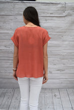 Salmon Knot Blouse