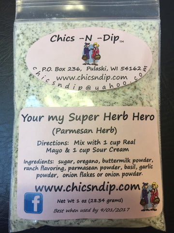 Your My Super Herb Hero