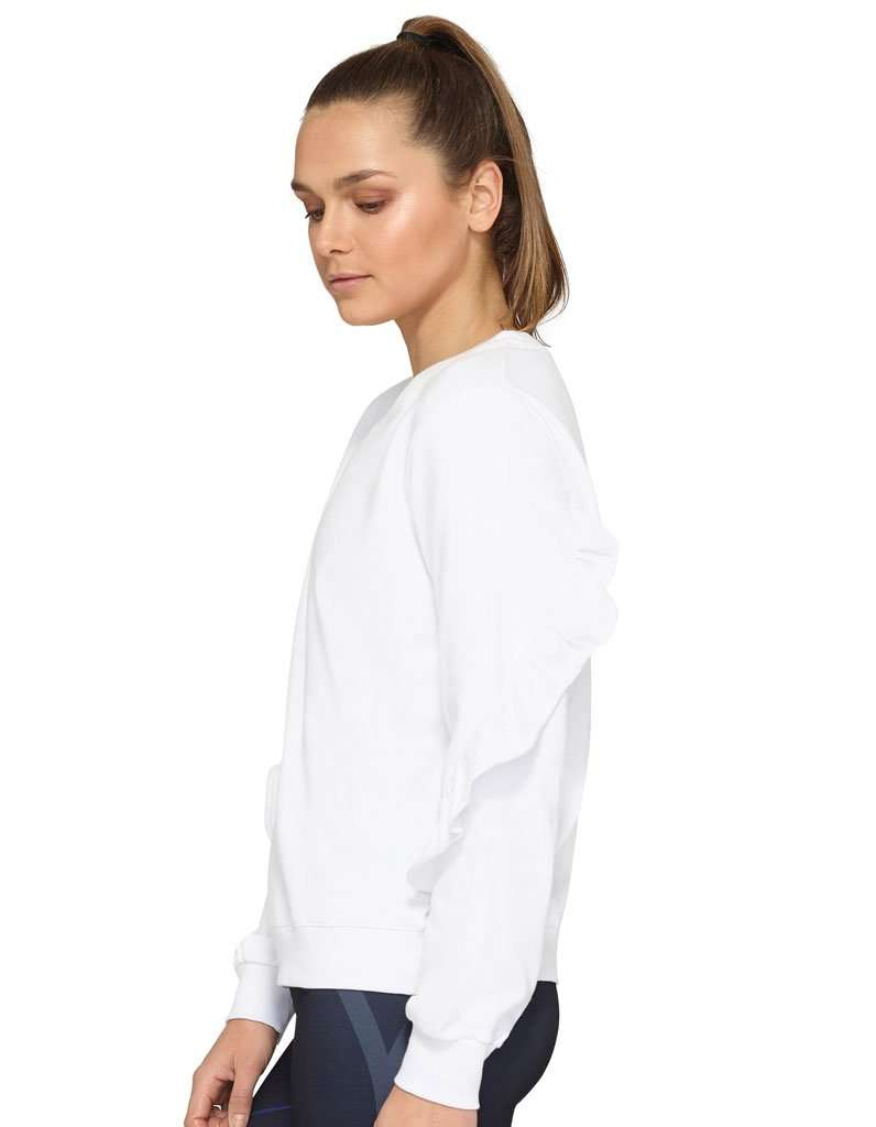 Women's Synergy Ruffle LS Sweater