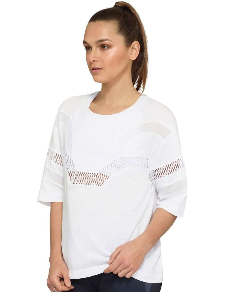 Women's Convex Mesh Trim Tee