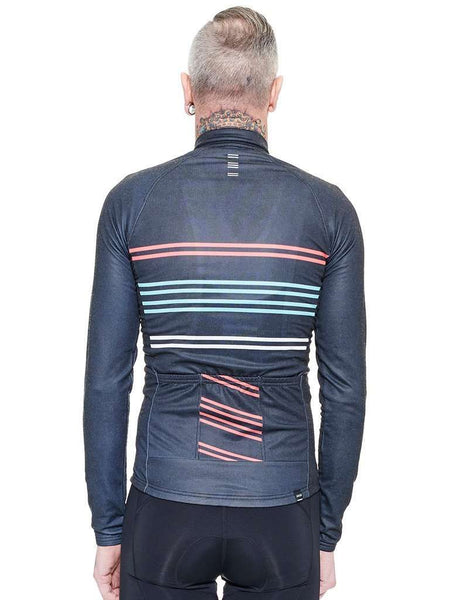 8-Stripe Long Sleeve Jersey